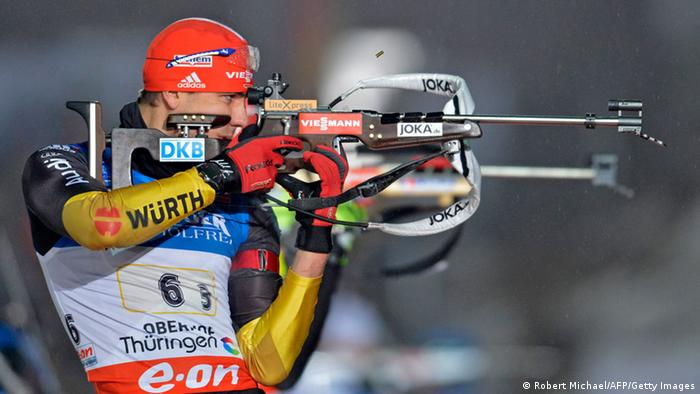 Wintersport IBU Biathlon World Cup Oberhof 03.01.2014 Arnd Peiffer