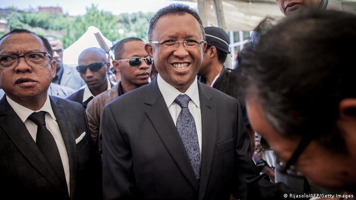 Wahlsieger Hery Rajaonarimampianina (Foto: afp)