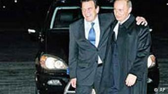 Schröder und Putin die dicksten Freunde