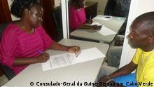 Wählerregistrierung von Bürgern aus Guinea-Bissau in Kap Verde
