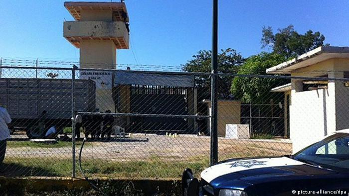 Mexiko Gefängnis Iguala Überfall 03.01.2014