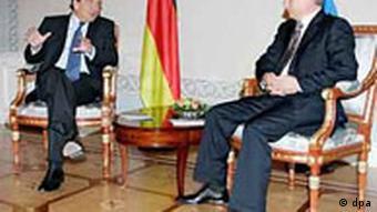 Rußland: Schröder gratuliert Putin zum 53. Geburtstag