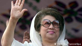 Khaleda Zia, Vorsitzende der Bangladesh Nationalist Party (Foto: picture-alliance/dpa)