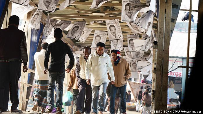 Bangladesch Wahlen 04. Januar 2014