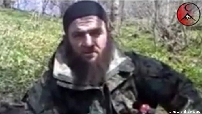 Russian Caucasus terrorist Doku Umarow