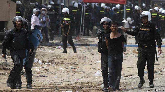 Police in Cambodia