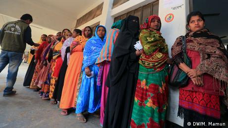 Bangladesch Parlamentswahlen (DW/M. Mamun)