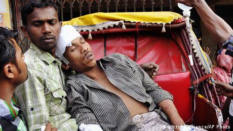 Bangladesch Parlamentswahlen Gewalt in Shatkaniya
