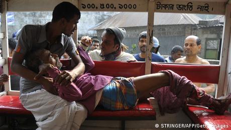 Bangladesch Parlamentswahlen Gewalt in Dhaka
