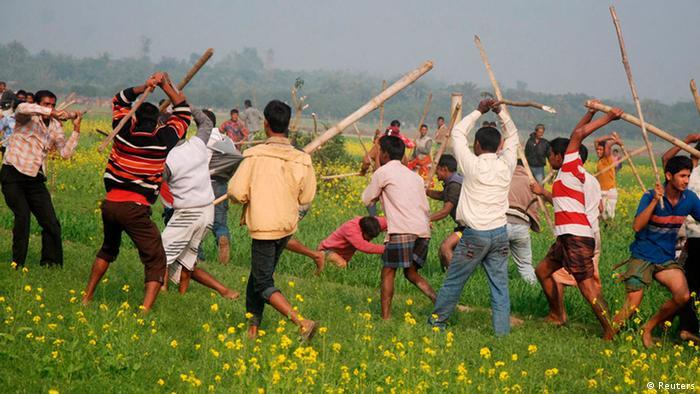 Gewalt bei den Parlamentswahlen in Bangladesch (Foto:REUTERS)
