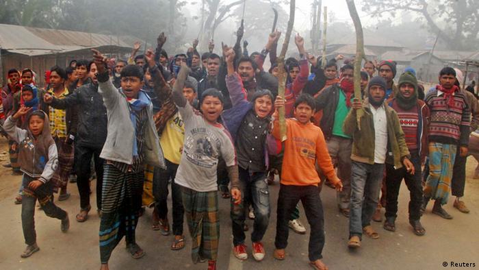 Bangladesch Parlamentswahlen Gewalt in Gaibandha