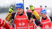 Biathlon Weltcup - Oberhof Andreas Birnbacher am 5. Januar 2014