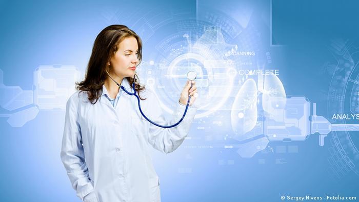 Symbolbild Medizin Junge Ärtztin