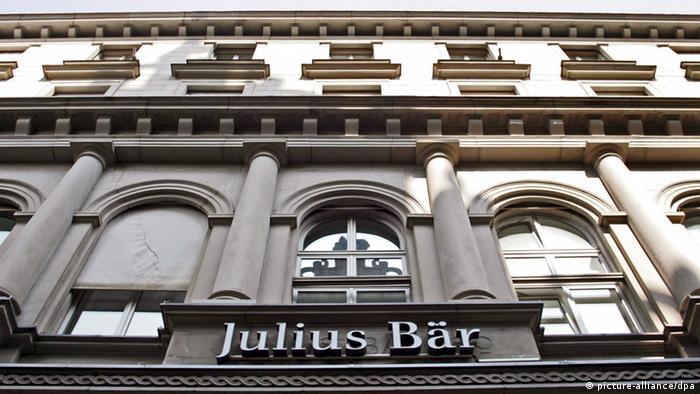 Swiss private bank Julius Bär in Zurich