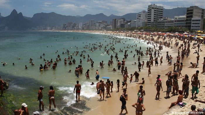 Wetter Hitze Hitzerekord Rio de Janeiro Brasilien