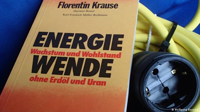 Symbolbild Energiewende Buchcover Wachstum und Wohlstand ohne Erdöl und Uran