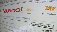 LONDON - APRIL 13: In this photo illustration the search page of the multi-facetted internet giant Yahoo is displayed on a computer screen on April 13, 2006 in London, England. (Photo Illustration by Scott Barbour/Getty Images)