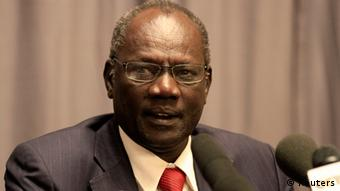 South Sudan's Informations Minister Michael Makuei Leuth