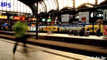 Hamburg Hauptbahnhof Deutschland