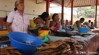 Fischereiverkäuferinnen Kapverden