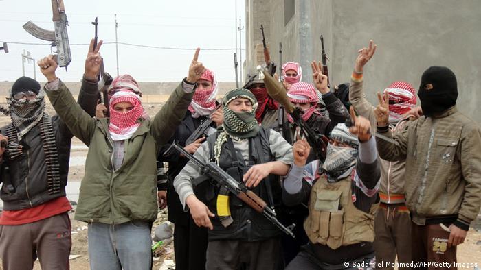نیروهای داعش در فلوجه