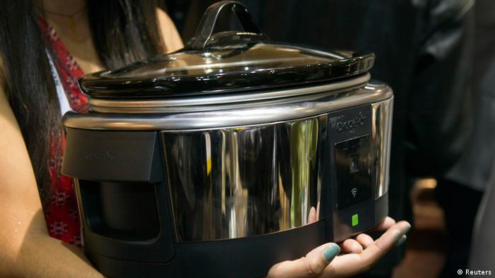A Belkin Crock-Pot weMo Smart-Slow Cooker