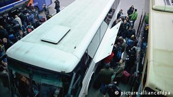 Autobus iz Bugarske koji vozi ka zapadu Evrope pun je putnika