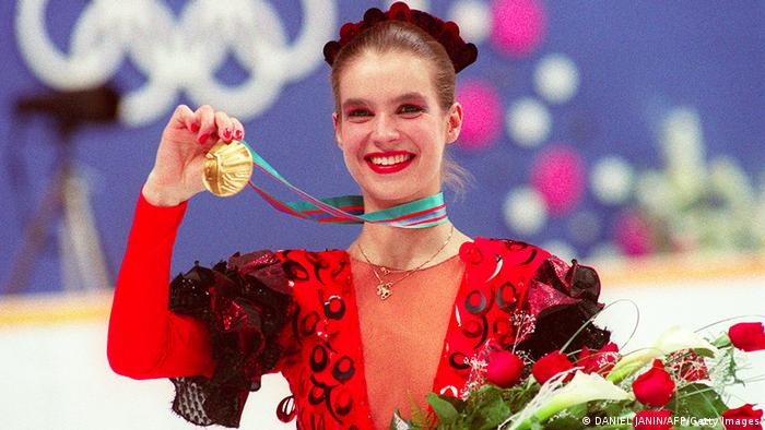 С золотой олимпийской медалью 1988 года