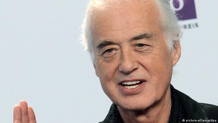 Jimmy Page (c) picture-alliance/dpa