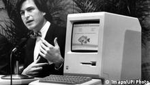 Steve Jobs Launch des ersten Apple Macintosh 1984