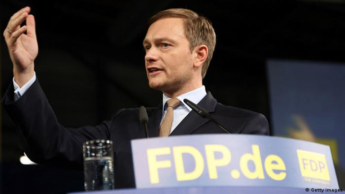 Christian Lindner (FDP) (Foto: Adam Berry/Getty Images)