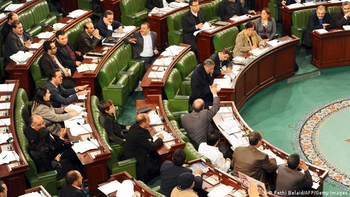 Tunesien Tunis Parlament Gleichberechtigungsdebatte