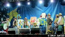 Unabhängigkeitsplatz in Kiew: Volksfest anlässlich orthodoxer Weihnachten *** DW-Korrespondent in Kiew Plexandr Sawizki