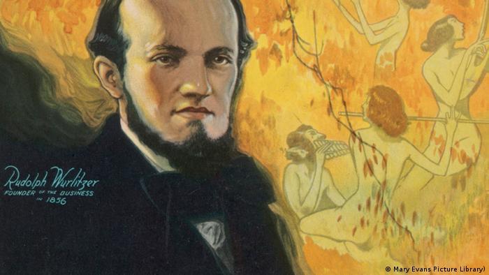 A portrait of Rudolph Wurlitzer (c) Mary Evans