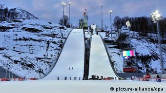 Gorki Jumping Center (Foto: Jan Woitas/dpa)