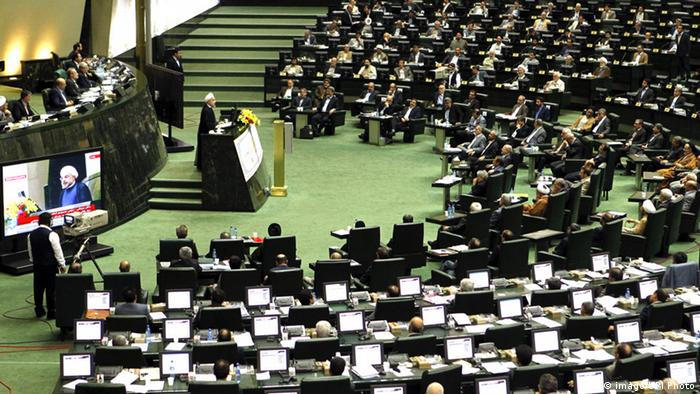 Iran Parlament Teheran (imago/UPI Photo)