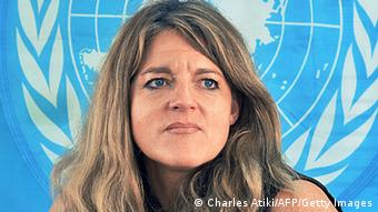 Hilde Johnson head of the UNMISS mission in South Sudan