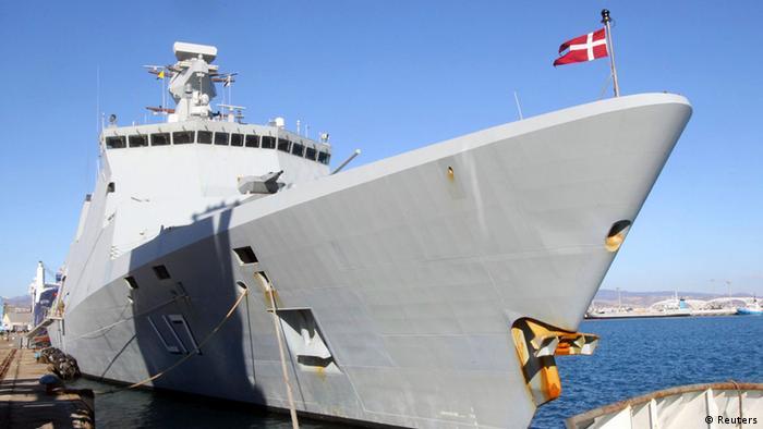 Dänisches Fregatte Chemiewaffen Syrien Latakia