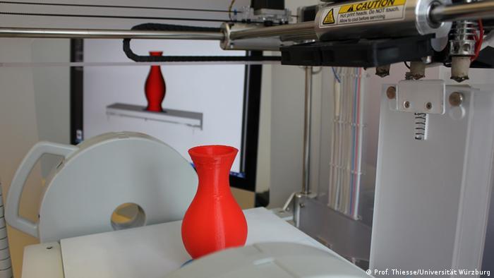 Universität Würzburg CEDIFA 3D-Drucker Vase