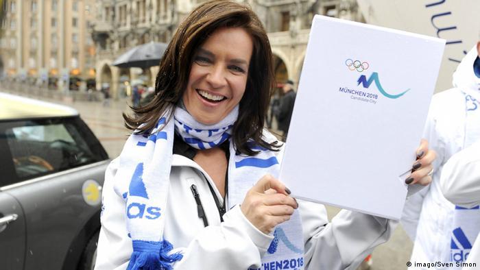 Катарина Витт в поддержку кандидатуры Мюнхена