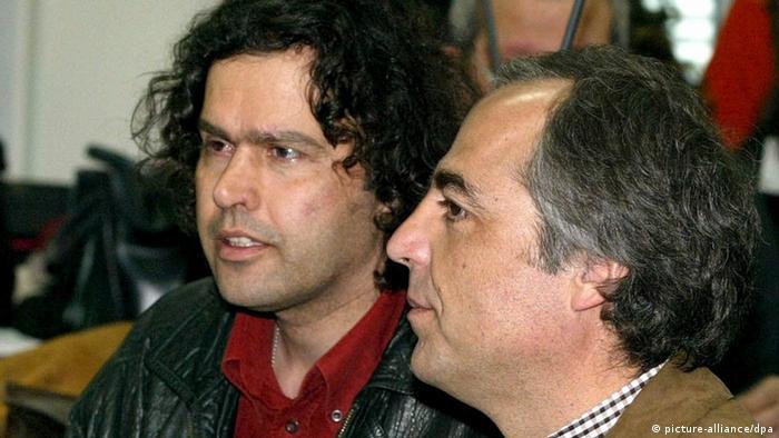 Griechenland Terrorismus Savas Xiros und Dimitris Koufodinas