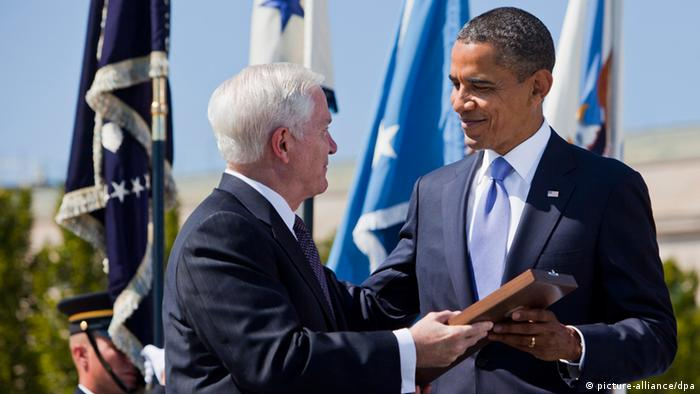 Barack Obama und Robert Gates