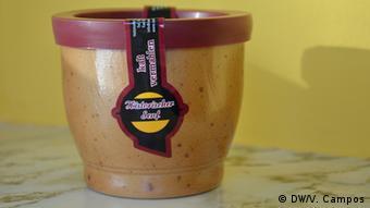 En este envase especial, la mostaza de Steffens no necesita ser refrigerada.