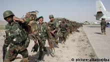 Afghan National Army in Afghanistan ARCHIV 2008