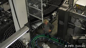 Passchendaele beer production (photo: Don Duncan)
