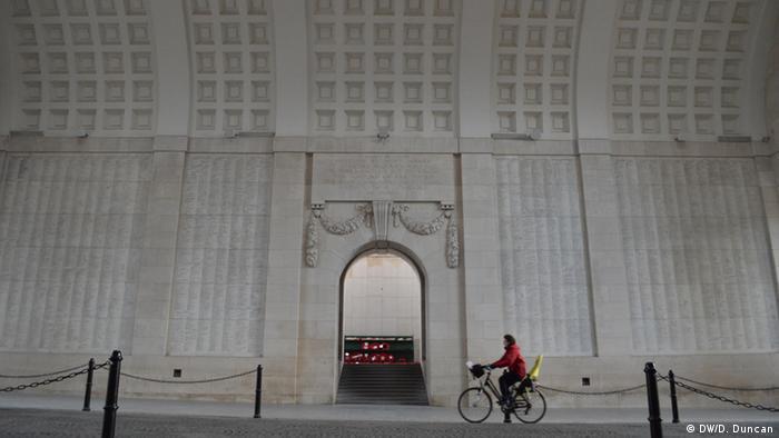 Menin Arch Denkmal in Ypern Belgien