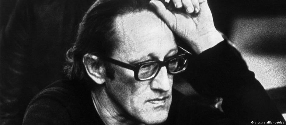 Heiner Müller em foto de 1986