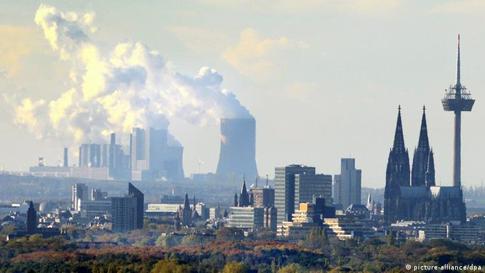Stadtpanorama von Köln (Skyline) NEU