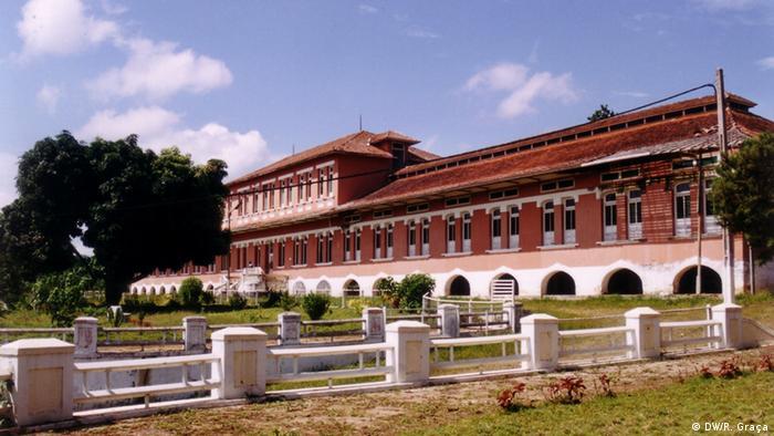 São Tomé e Príncipe Krankenhaus der Roça Agostinho Neto