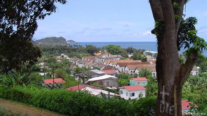 São Tomé e Príncipe Anlage der Roça Água Izé